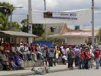 Crisis humanitaria  en el medio y bajo Putumayo