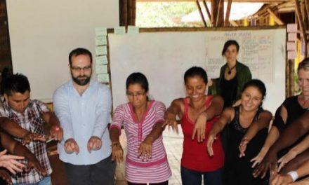 Acompañamiento internacional a las comunidades del Tambo