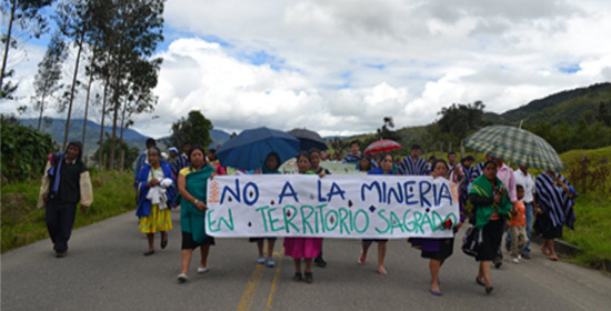 Comunidades de Nariño exigen salida de multinacionales mineras de la zona