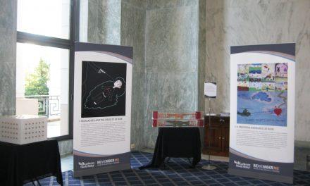 Fue exhibida en el Congreso de Estados Unidos la galería de la memoria «REMEMBER ME»