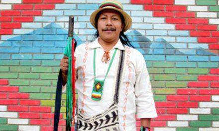 El líder indígena Feliciano Valencia, citado a versión libre