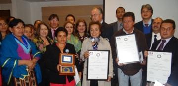 Mujeres del Putumayo reciben Premio Franco-alemán