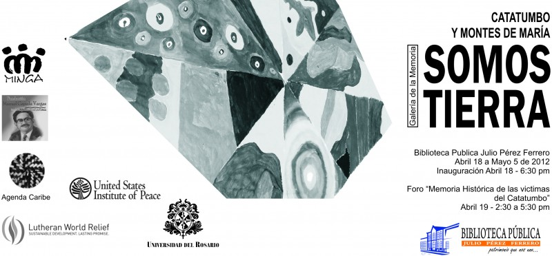La Galería de la Memoria Somos Tierra será presentada en Cúcuta