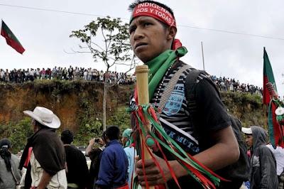 Combates en Cerro Tijeras Cauca
