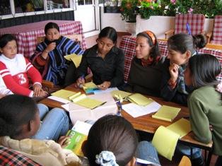 Minga de resistencia de las mujeres Indígenas