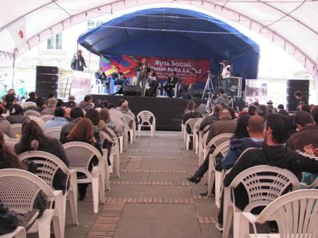 Declaración política, Foro social común para la paz con justicia social