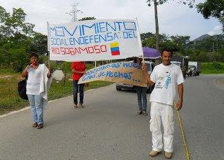 Desaparecido líder del movimiento social en defensa del río Sogamoso