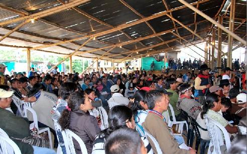 Indigenas del Cauca se suman a la movilización popular colombiana