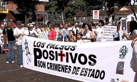 """Los """"falsos positivos"""" son crímenes de lesa humanidad"""