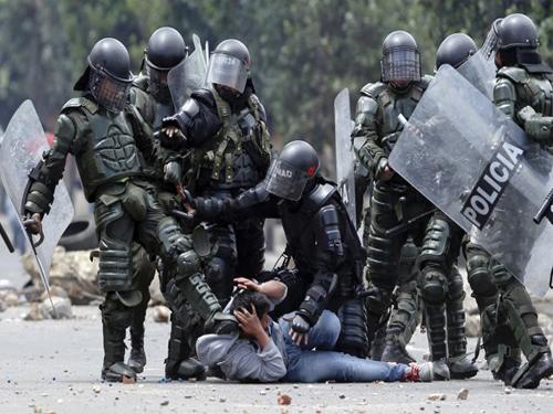 Denuncia pública: fuerza pública ataca brutalmente a campesinos en norte de Santander