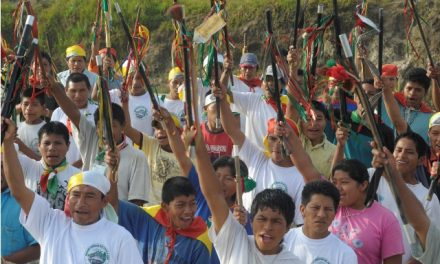 Indigenas Awá de Nariño se suman al paro agrario