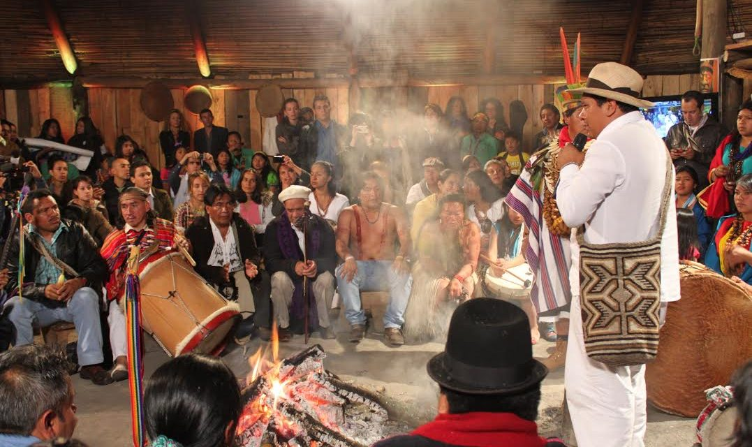 Pueblos indígenas de Colombia convocan gran jornada de armonización espiritual por la paz