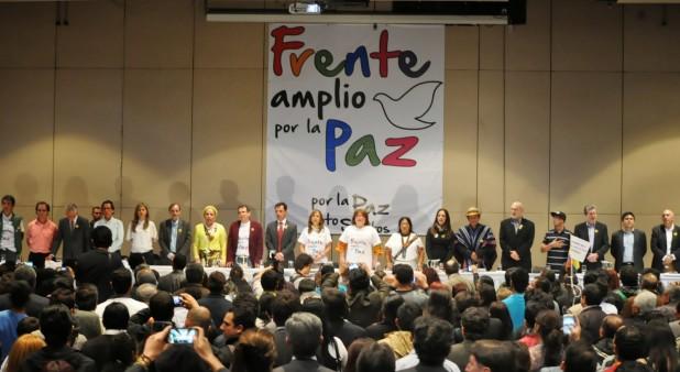 Declaración Política 1er Encuentro Nacional Frente Amplio por la Paz