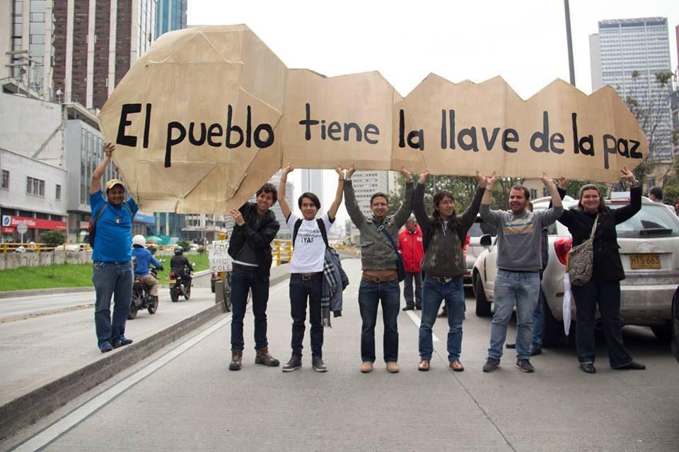 10 de diciembre: ¡Vamos a la calle por un fin de año sin guerra!  Estamos en la Campaña #100DíasPorLaPaz