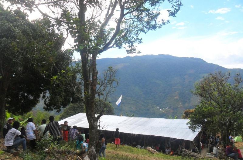 Indígenas Nasa inician liberación a UMA KIWE – Corinto