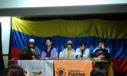 Congreso de los Pueblos de gira por el cono sur