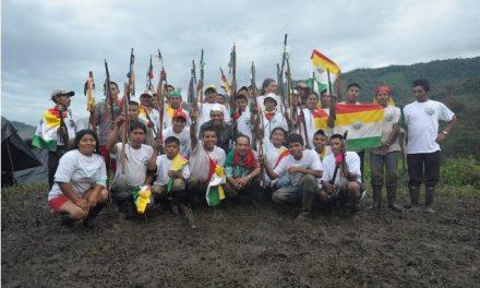 El pueblo Awá se moviliza en minga de resistencia contra la minería ilegal