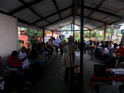 El campo popular sigue avanzando: con éxito concluye nueva sesión de Escuela  en Putumayo