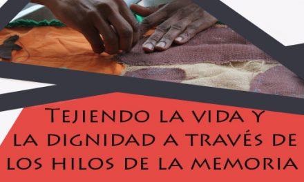 Conversatorio «Tejiendo la vida y la dignidad a través de los hilos de la memoria»