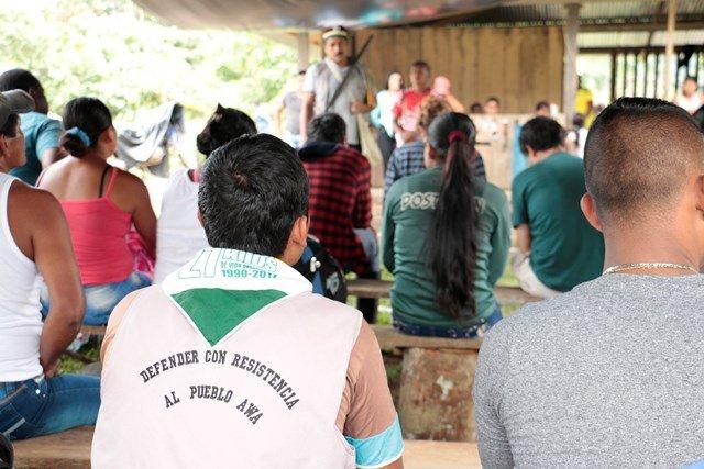 Continúan amenazas y presiones contra líderes del pueblo Awá en Nariño