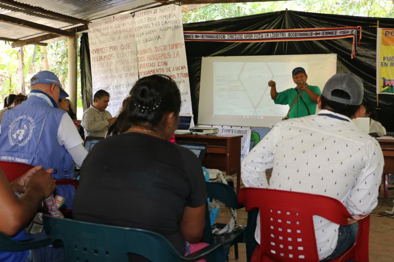 Alerta temprana de indígenas Nasa del Putumayo ante inminente riesgo frente al aumento de represión y agresión estatal