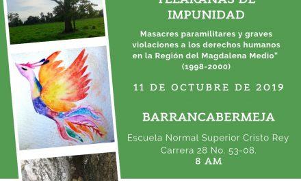 Telarañas de impunidad: Las voces de resiliencia frente a la violencia estatal-paramilitar en el Magdalena Medio
