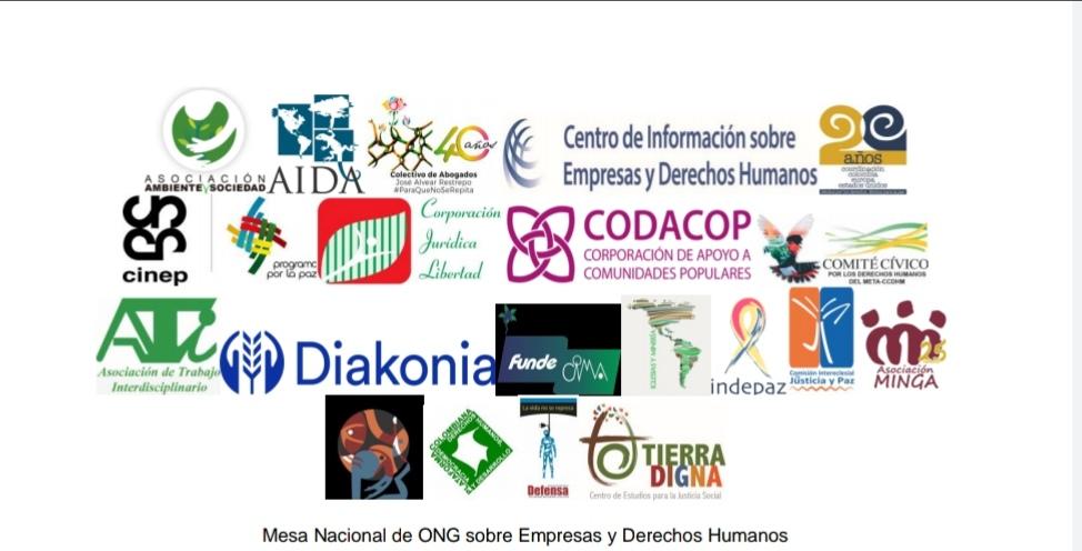 Declaración pública de la Mesa Nacional de ONG sobre Empresas y Derechos Humanos