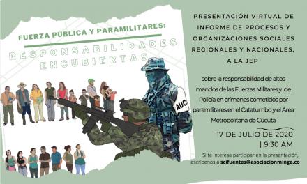 Fuerza Pública y paramilitares: Responsabilidades encubiertas
