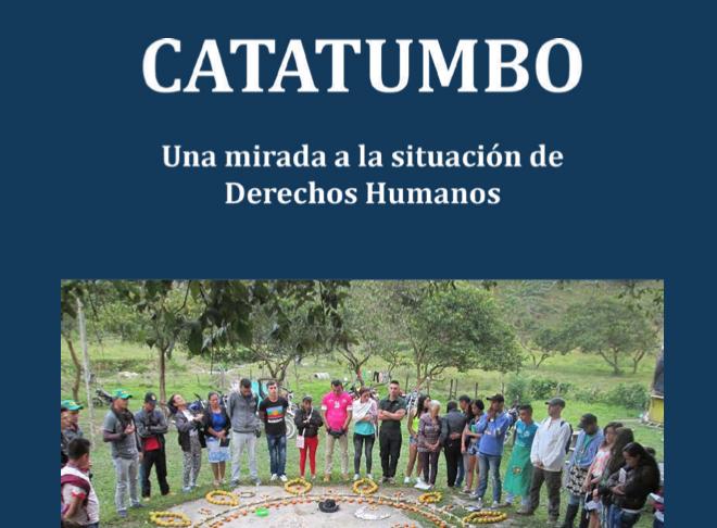 Una mirada a la situación de derechos humanos en la región del Catatumbo