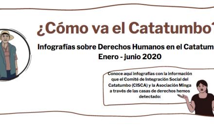 ¿Cómo va el Catatumbo? Infografías sobre situación de vulneración de DDHH Enero- junio 2020