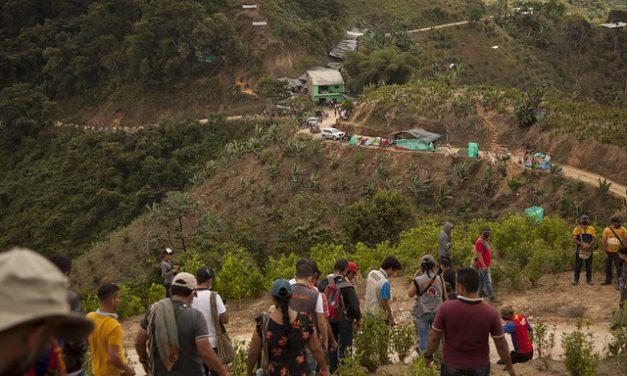 ¡No mas militarización en el Catatumbo!