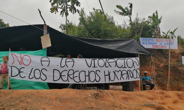 ACCIÓN URGENTE: Solidaridad y garantías para comunidades de Hacarí quiénes levantaron Asentamiento Humanitario como acto de buena voluntad