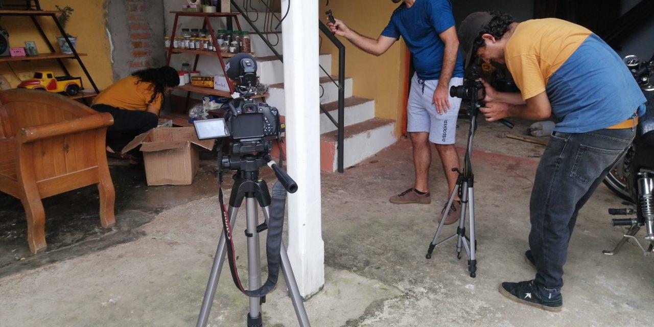 Con los píes en la tierra, galería de serie audiovisual del Catatumbo