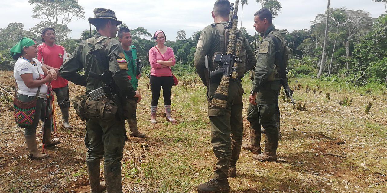 Comunicado público: Rechazamos violaciones de derechos humanos de fuerza pública en marco de erradicaciones forzadas que afectan Territorio Ancestral del Resguardo Nasa Kiwnas Cxhab en Putumayo