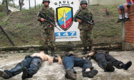 Ejecuciones extrajudiciales en el Cauca