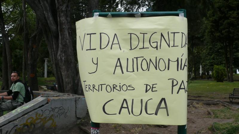 Solidaridad con las comunidades del norte del Cauca