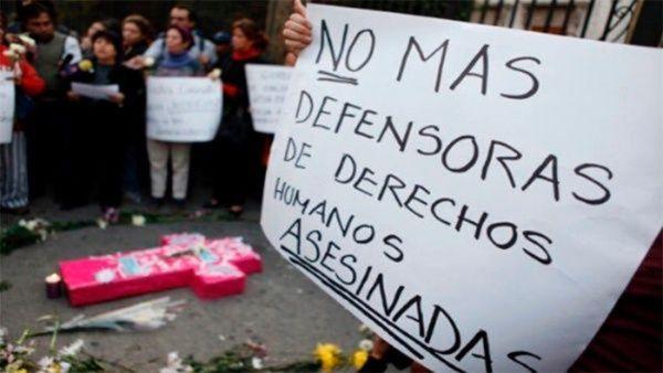Análisis sobre agresiones a defensores de derechos humanos