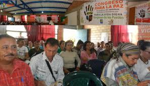 En el nororiente sigue caminando el congreso para la paz