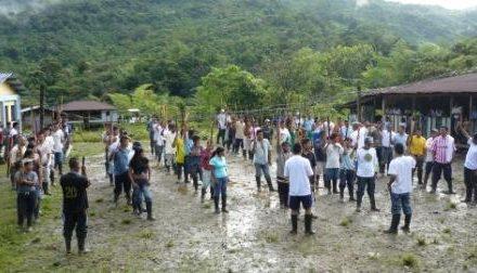 Comunidad Indígena Awá se desplaza por presencia del Ejército en su territorio