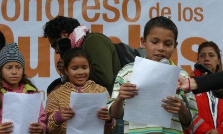 Mandatos del Congreso de los Niños y Niñas para la Paz
