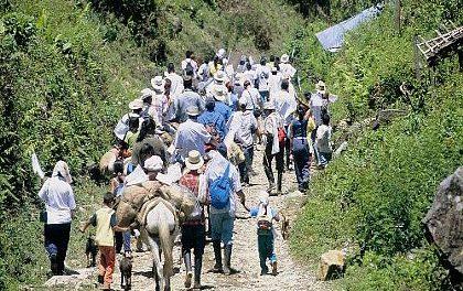 Con irregularidades jurídicas y terror militar se pretende desplazar a la comunidad de Pitalito