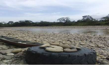 Comienza el ecocidio del río sogamoso13
