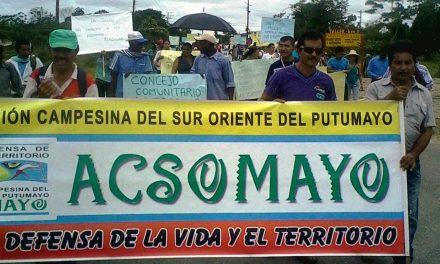 Organizaciones Sociales de Putumayo se manifiestan sobre el Paro Regional