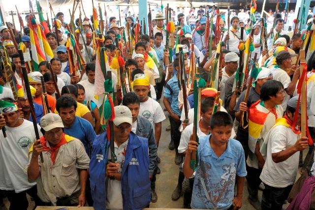 Guardia indígena Awá cae en mina antipersonal