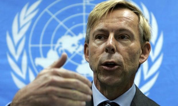 Carta a Ban Ki Moon contra suspensión de Anders Kompass