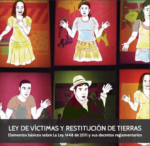 Cartilla ley de restitución de víctimas