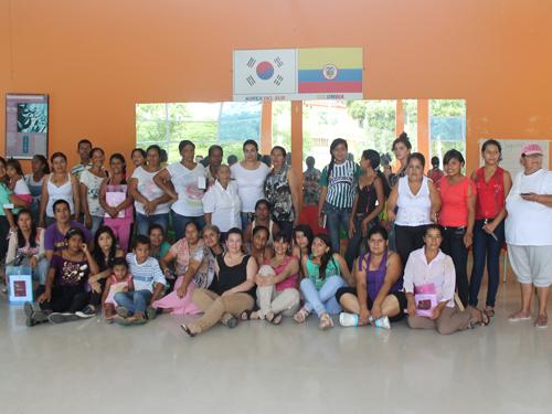 Escuela de mujeres del bajo Putumayo