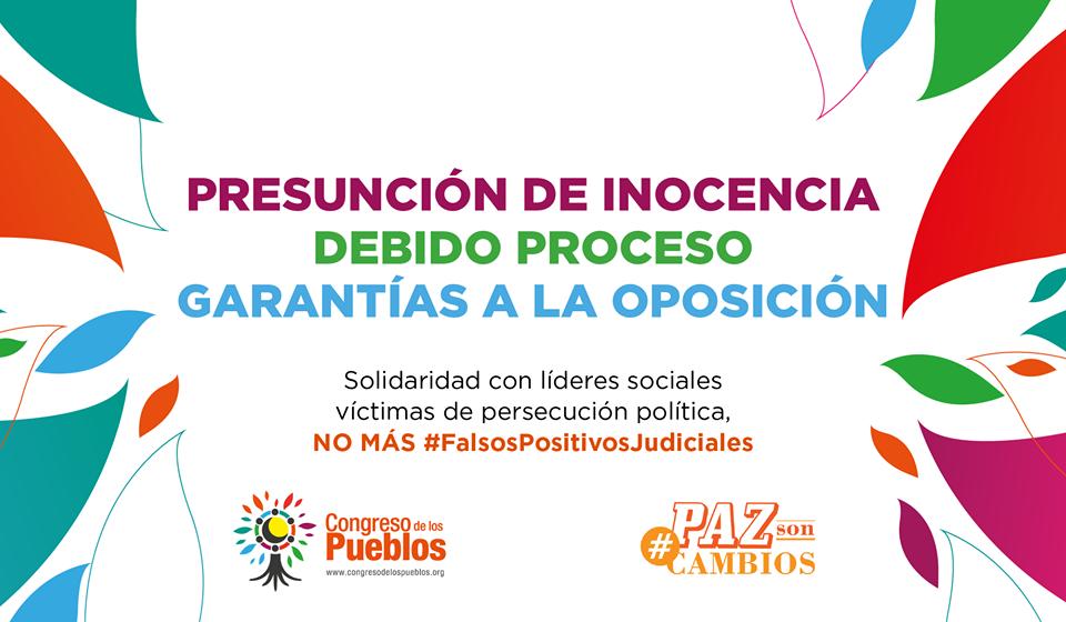 Organizaciones sociales se manifiestan ante detenciones masivas en Bogotá
