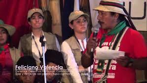 Palabras de Feliciano Valencia frente al presidente Juan Manuel Santos en la Maria- Piendamo