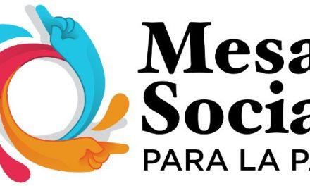 Llamamiento de la Mesa Social para la Paz